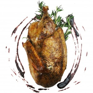 Slow Cooked Split Duck Half