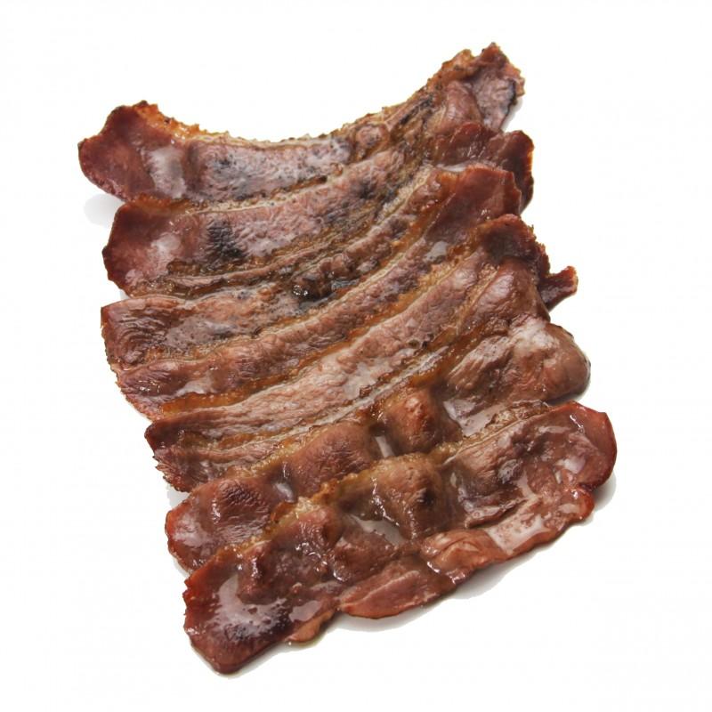 Applewood Smoked Duck Bacon